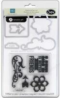 Sizzix Stamp & Die-cut Note To Self 2 5 Stamps/5 Dies 659040