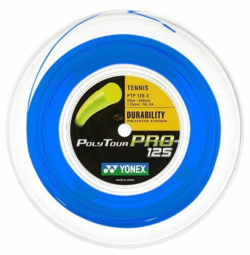 Yonex Poly Tour Pro Tennis String Multiple gauges and colours 200M Reel