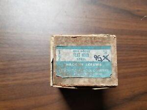 National-Machine-Screws-95-in-Box-1-2-034-Flat-Head-Steel-MB-1412-X6