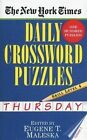 New York Times Daily Crossword Puzzles (Thursday), by Maleska (Paperback)