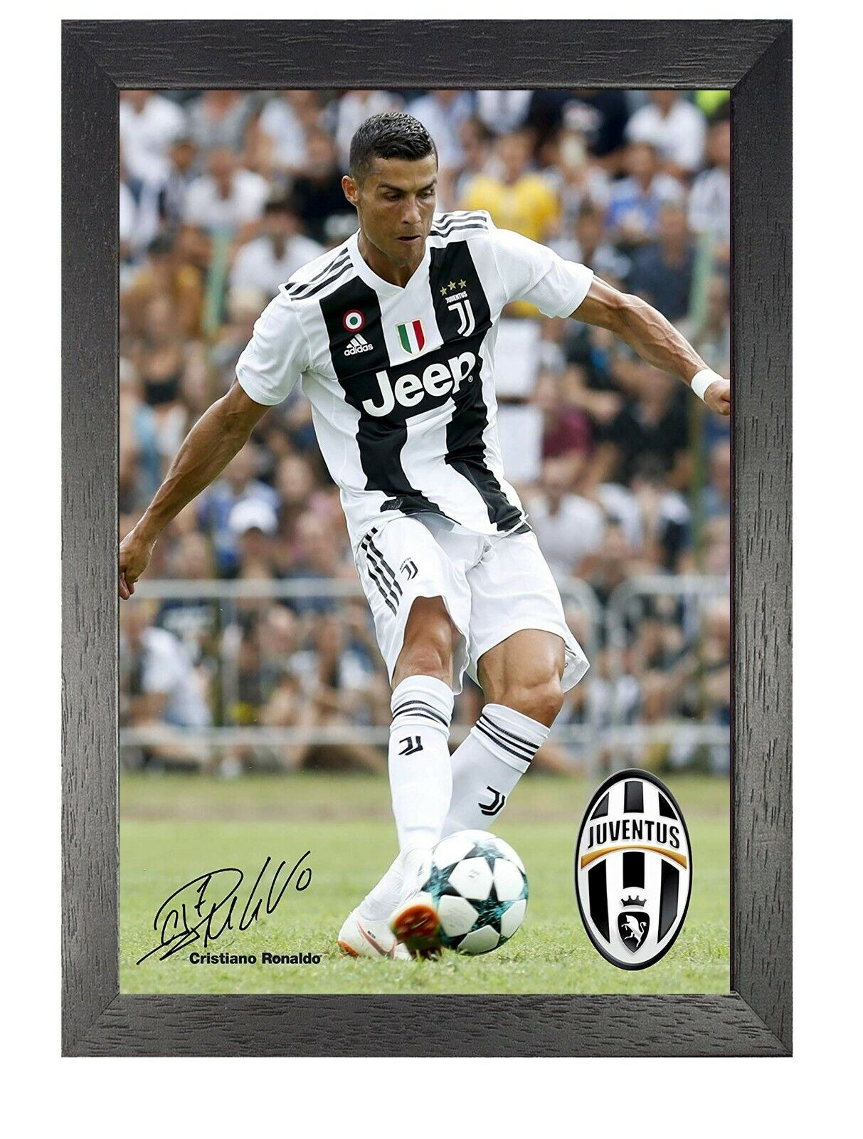 10 Ronaldo Juventus Football Player Poster Sport Photo Motivation Signed Picture