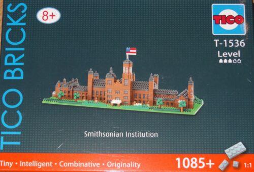 Smithsonian Institution TICO Bricks Tiny building block micro construction T1536