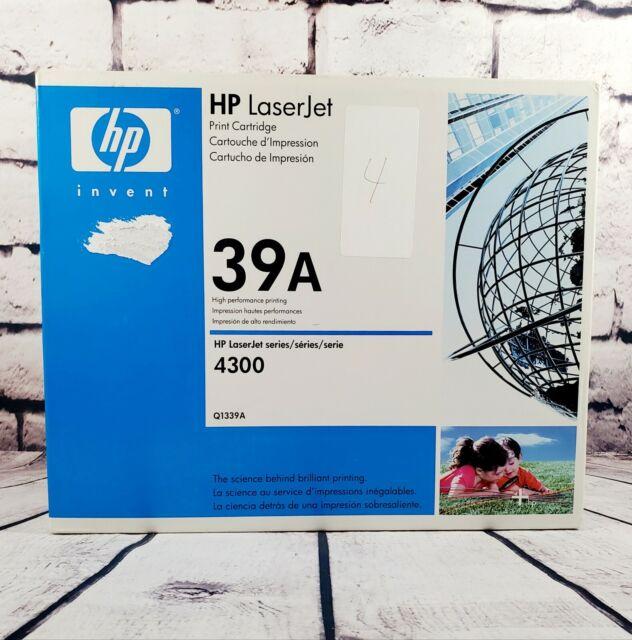 Genuine HP LaserJet 39A Sealed Black Toner Cartridge-Q1339A