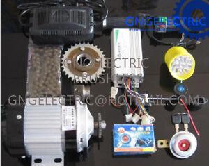 48V-600W-ELECTRIC-MOTORIZED-E-BIKE-CAR-CONVERSION-KIT