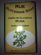 RUE RUDA GLYCERIN SOAP BAR 3.35 OZ. IMPORTED FROM PERU
