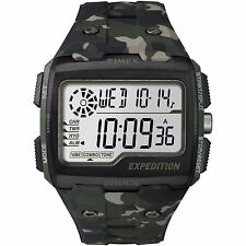 Timex TW4B02900 Men's Indiglo Alarm Chronograph Expedition Grid Shock Watch