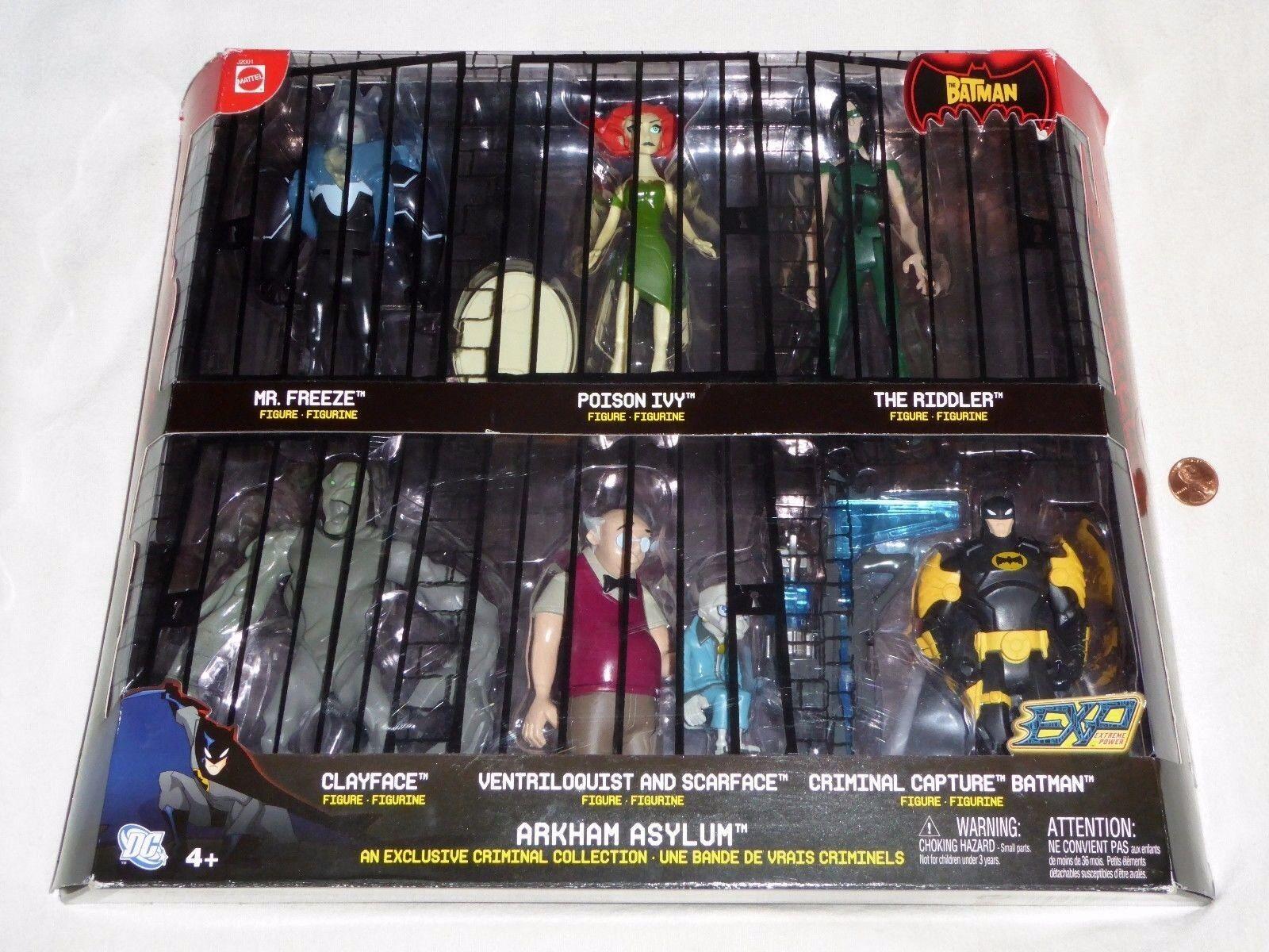 Nueva Colección De Batman Arkham Asylum exclusivo criminal 6 figura conjunto con Scarface