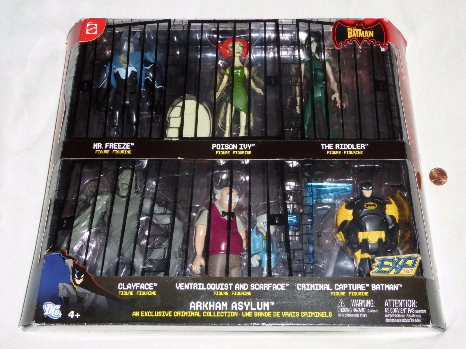Neuf Batman Arkham Asylum Exclusive criminel collection 6 Figure Set Avec Scarface
