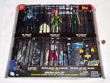 NEW Batman Arkham Asylum Exclusive Criminal Collection 6 Figure Set w/ scarface