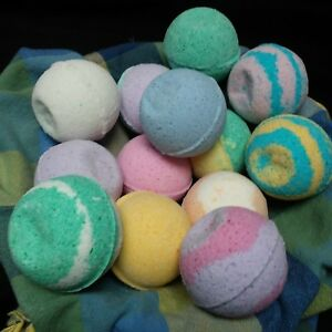 Bath-Bomb-Fizzy-Fizzies-2-7-oz-Lot-of-12-Assorted-Lush-amp-Luxurious