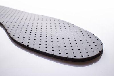Contra el olor caprichosos Zapatos plantillas suela interior látex Unisex de carbón activo 84 pie