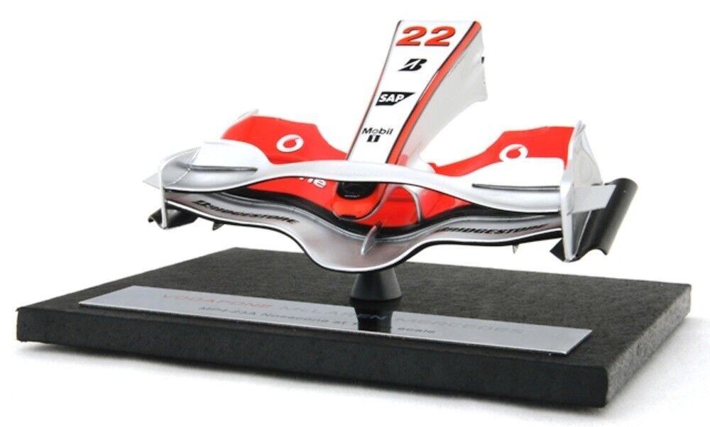 Amalgam 1 12 McLaren MP4 23 Hamilton 2008 Nosecone Nez aileron F1 Nose Cone