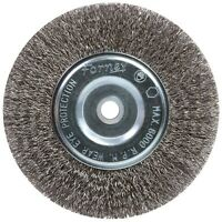 Forney Wire Wheel Brush 6  Crimp on sale