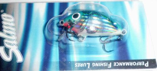 SALMO TINY 3F 3cm//2g FLOATING WOBBLER ZOCKER 0,3-0,5m OBERFLÄCHENKÖDER