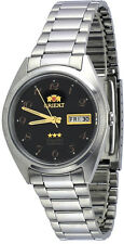 Orient FAB00003B Men's 3 Star Classic Black Numbers Dial Date Automatic Watch