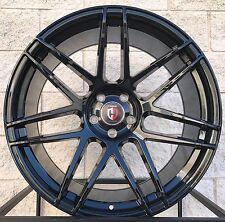 """22"""" Curva C300 Wheels Mercedes Benz S550 S63 CL550 CL63 Black Concave Rims"""