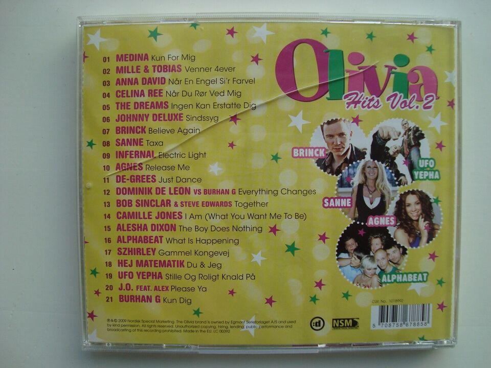 Medina, Anna david Infernal m.fl.: Olivia hits vol.2,