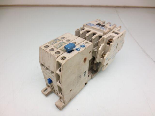 Cutler Hammer AE56AN0 Size A 7 Amp Reversing Motor Starter w// 120V Coil