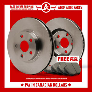 2007-2008-2009-2010-Toyota-Yaris-OE-Replacement-Rotors-Ceramic-Pads-F