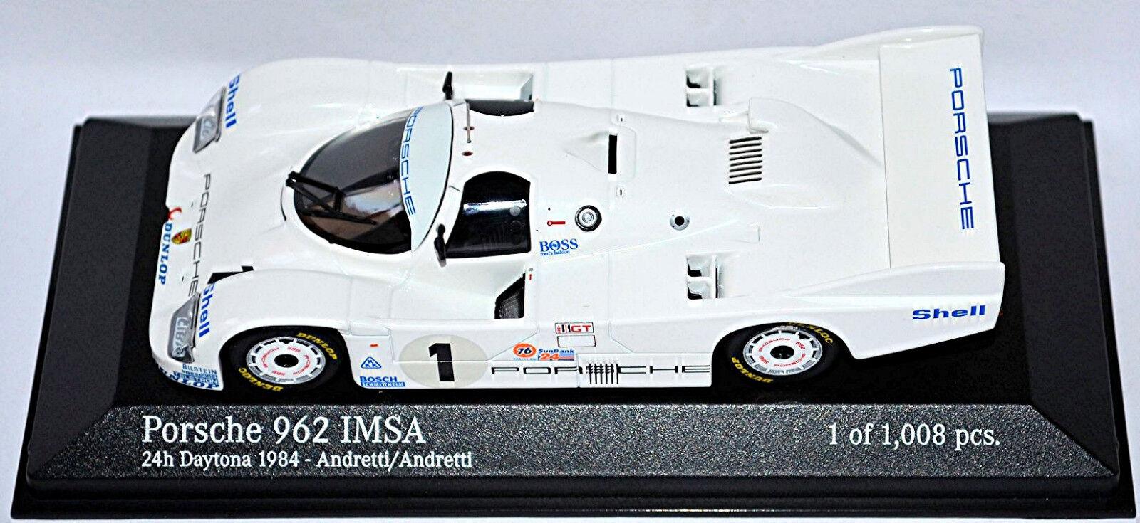 Porsche 962 Imsa 24h 24h 24h Daytona Andretti 1 43 Minichamps 5d4afc
