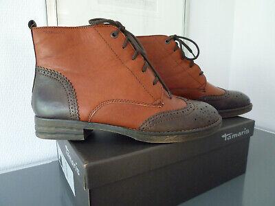 TAMARIS Stiefel Größe 40 Farbe: Cognac und dunkelbraun NEU | eBay