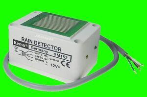 REGENSENSOR-Markise-Dachfenster-Rollo-Regen-Naesse-Sensor-12-V-DC-rain-switch-NEU