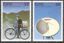 Ireland 1983 Postman/Bike/Bicycle/Radio Dish/Communications 2v set (n29093)