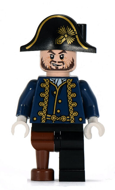 Lego Hector Barbossa Minifigure Pegleg Privateer Pirates of The Caribbean   4192 a251372e439f