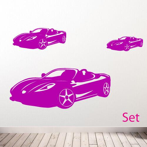 Car Wall Stickers Sports car wall sticker