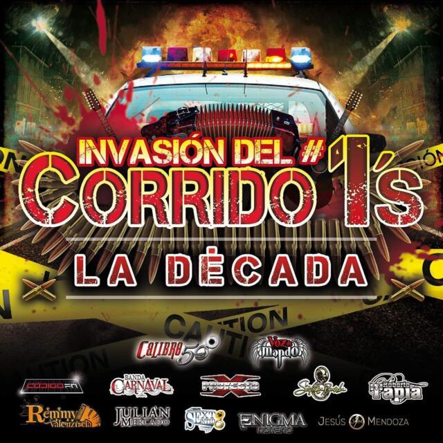 Invasion Del Corrido #1'S - La Decada CD #1972855