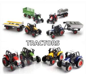 2019-Nuevo-Conjunto-De-Coche-De-Juguete-Modelo-de-granja-de-regalo-de-aleacion-tractores-Cargador