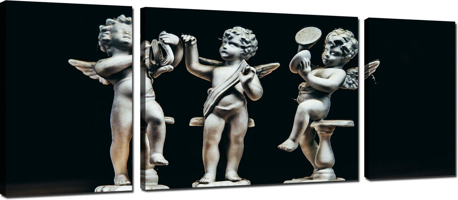 Quadri Moderni Stampa su Tela Canvas Cm 208x70 Quadro Quadro Quadro Moderno 3 Pezzi XXL Arte 166f69