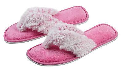Chicas Piel Sintética Zapatillas Mula Puntera Abierta para niños Niños Idea de Regalo Size UK 10-2