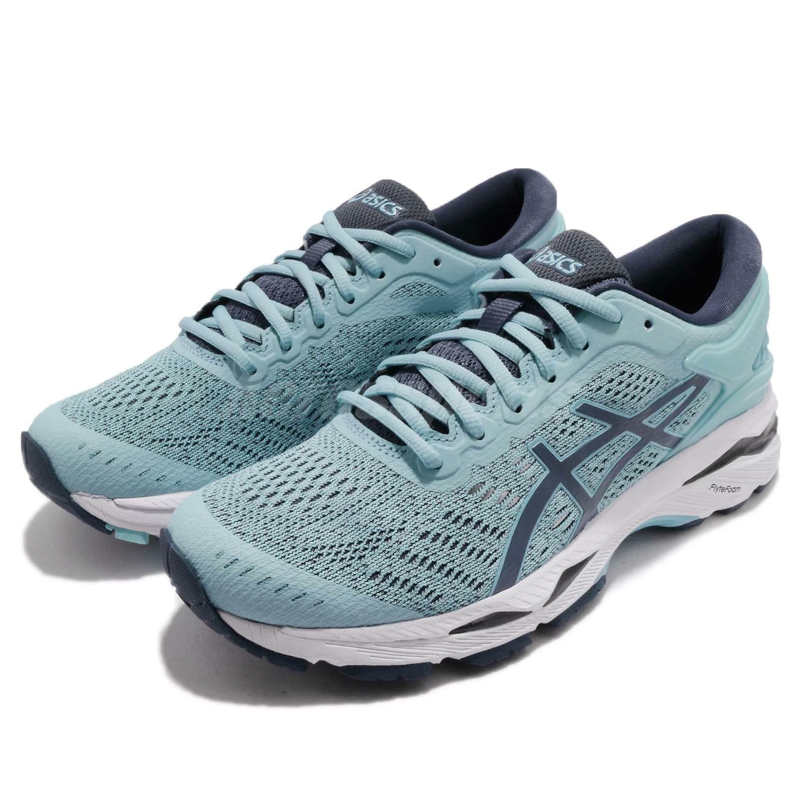 Asiacs Gel-Kayano 24 Porclean Blau Navy damen Gear Road Running schuhe T799N-1456