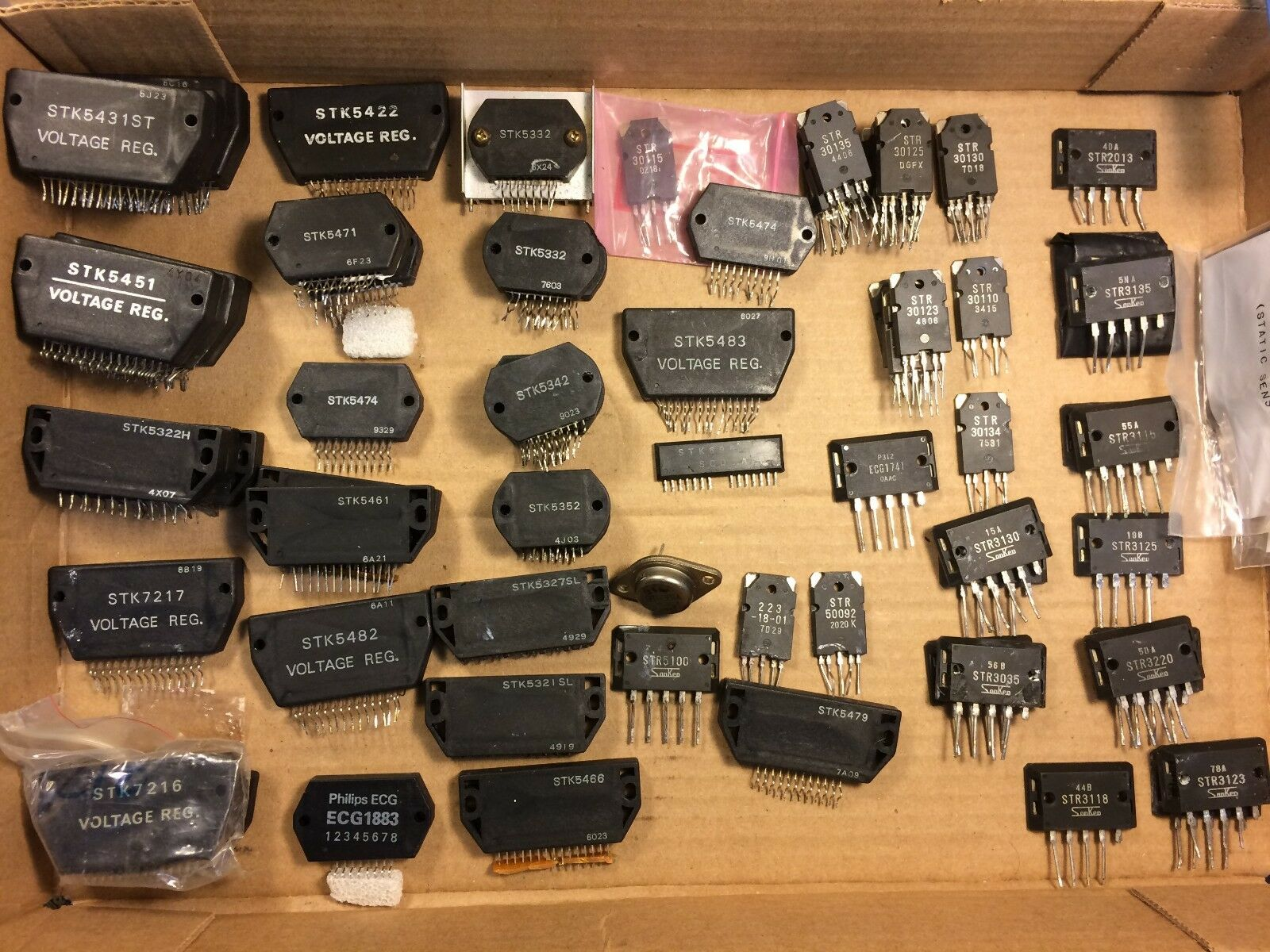 Big Lot of 78 vintage Voltage Regulator STK Transistors some NOS