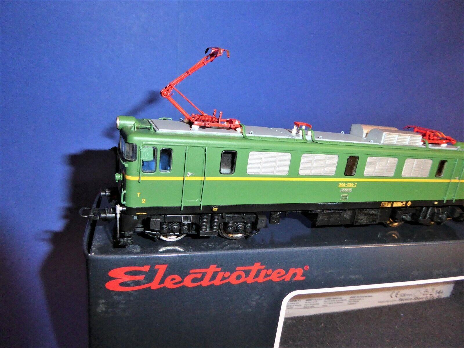 ELECTROTREN H0 E2638  269-028-7 RENFE  E-Lok
