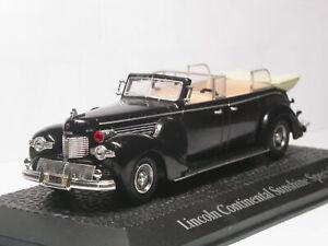 Norev-1-43-Lincoln-Sunshine-SPECIALE-PARATA-presidenziale-AUTO-1939-Modello-Pressofuso