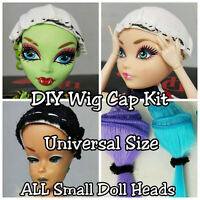 Wig Cap Kit For Making Fashion Doll Wigs For Barbie Monster High Ever After