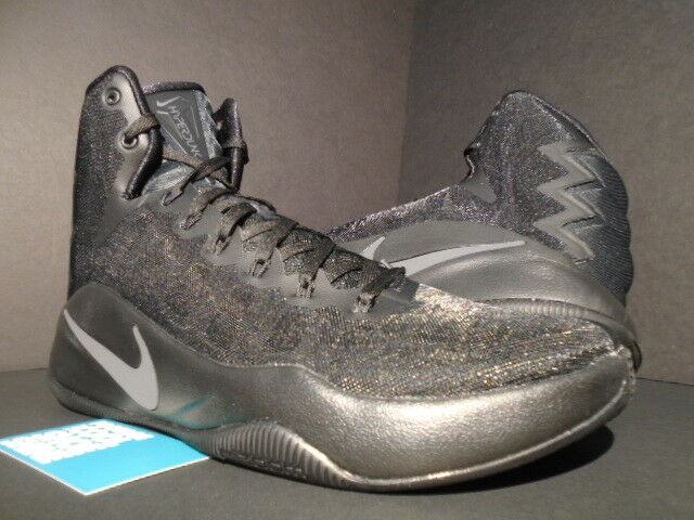 Nike zoom hyperdunk triple schwarz schwarz schwarz anthracite Grau 844359-008 2016 neue 10,5 volt dfbe5b
