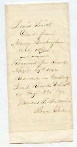 1862-Warranty-Deed-New-Haven-Massachusetts-BUCKINGHAM-amp-SMITH-Family