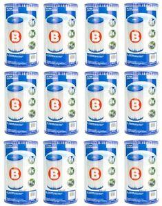 Intex-Pool-Easy-Set-Type-B-Replacement-Filter-Pump-Cartridge-12-Pack-29005E