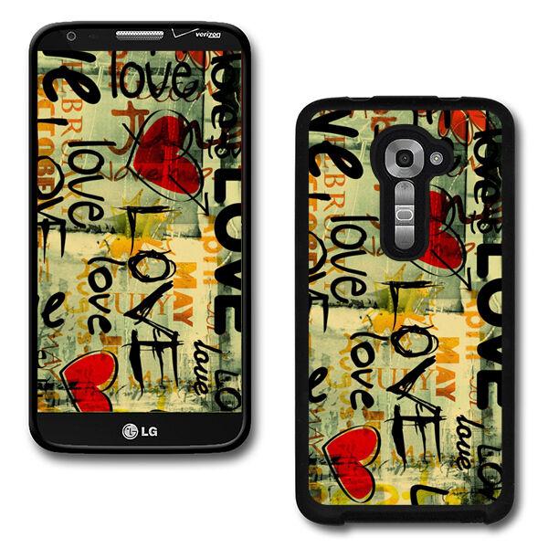 Design Hard Phone Cover Case Protector For LG G2 VS980 Verizon #2536