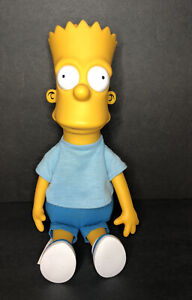 "Vintage 1990 Bart Simpson 11"" Plush Doll 20th Century Fox Matt Groening"