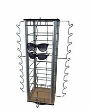 Eyewear Counter Display Spinner With Mirrors 40 Pair Sunglass Reading Glass Retail