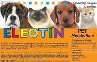 Eleotin Dog Cat Natural Treatment Metabolism Blood Glucose Diabetes Kidney 30-45