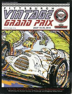 2010-PVGP-Pittsburgh-Vintage-Grand-Prix-Race-Program