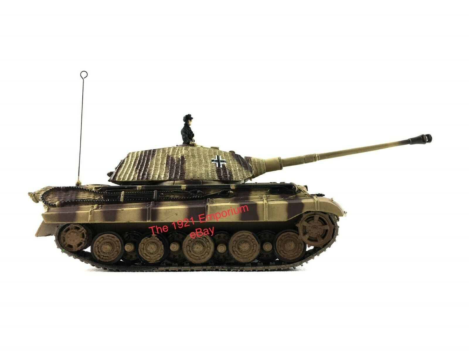 1 72 Diecast Unimax Toys Forces of Valor WWII German Army King Tiger Tank