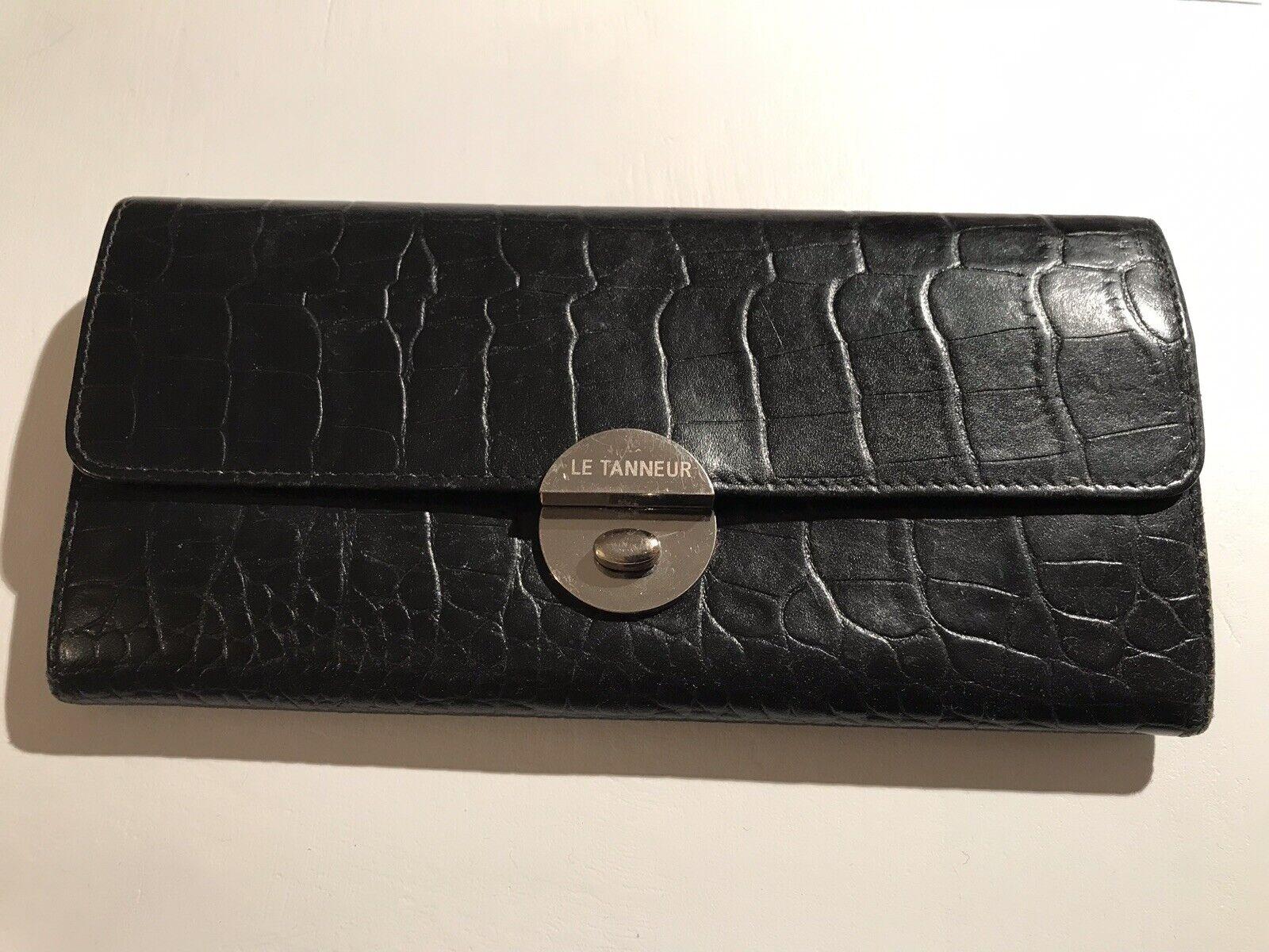 Le Tanneur - Luxury Purse Black - Women's wallet - in good conditions