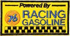 76 Union Gasoline Gas Station Nascar Motogp Racing Vest Suit Patch Iron on Logo