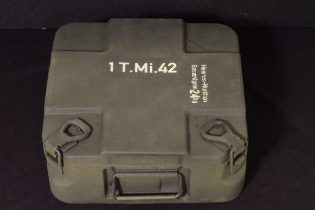 STENCIL SCHABLONE SET WW2 WWII GERMAN TELLER MINE 42 BOX CASE CONTAINER  T Mi 42